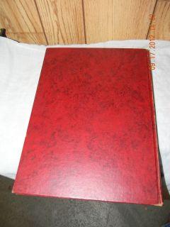 1942 Denison University Yearbook Adytum Granville Ohio Signatures