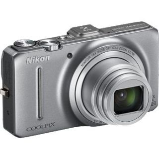 Coolpix S9300 16 0 Megapixel Coolpix Digital Camera with GPS