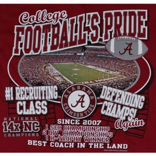 Tide Football T Shirts Reload in 2012 Bryant Denny Stadium