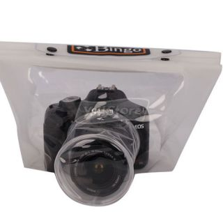 Waterproof Under Water Digital Camera Case Bag 20M for 15 10cm Lens