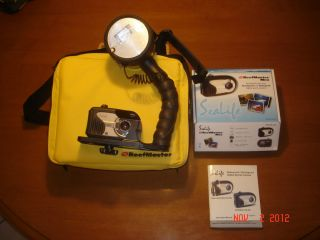 Sealife Reefmaster underwater digital camera & Digital Flash set in