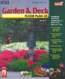 New Landscape Garden Deck Floor Plan Design Software XP