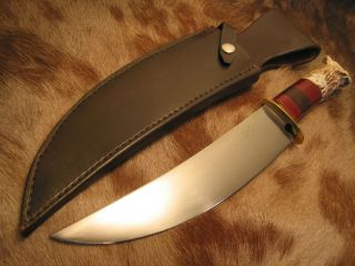 Dennis Riley Custom Scagel Style Camp Knife Mint