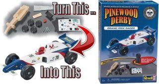Grand Prix Racer Pinewood Derby Car Kit Revell 97778