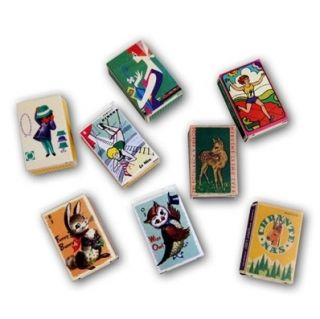 Decorative Adhesive Stickers Europe Match Box Label Refill Pack