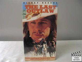 The Last Outlaw VHS Mickey Rourke Dermot Mulroney 026359097034