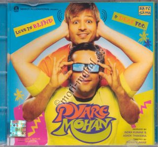 Mohan Vivek Oberoi Fardeen Khan Esha Deol Bollywood Music CD