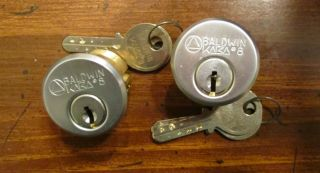 Baldwin KABA 8 Mortise High Security Dimple Lock
