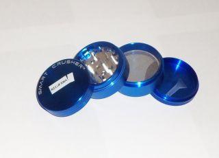 SMART CRUSHER™ Space ALUMINUM BLUE Spice Pollen Herb Grinder