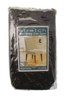 Stretch 42in Tall Short Dining Table Chair Covers One Size