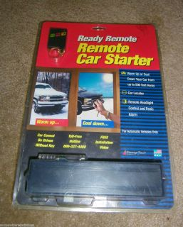 DesignTech Ready Remote Car Starter Automatic Vehicles Only Model