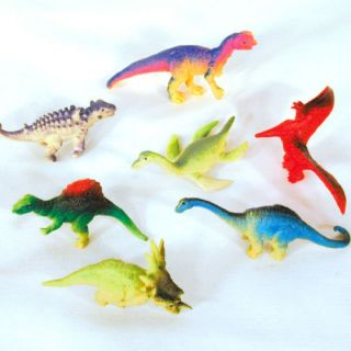 36 Asst Mini Dinosaur Toys 080 Prehistoric Dino Toys