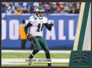 2011 Panini Threads Football 111 DeSean Jackson Eagles