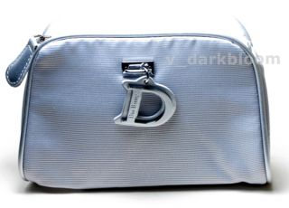 christian dior beauty cosmetic bag makeup case one 1 bag 6 w x 4 5 h x