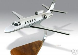 Gulfstream Astra Jet Wood Desktop Airplane Model