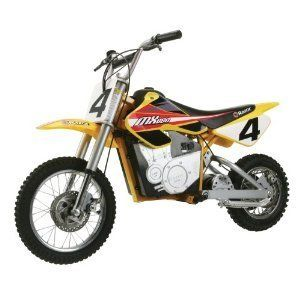 Dirt Rocket Electric Motocross Bike Motorcycle On Off Road Kids Toy