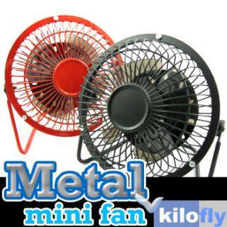 Mini Metal Fan Desk Destop USB Fan Laptop Cooling Quiet