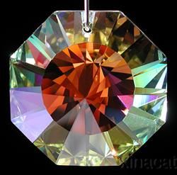 6208 40AB Austrian Crystal Prism Discontinued Vintage Mint Cond