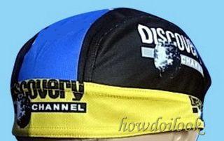 Discovery Channel Racing Bike Road Cycling Riding Bandana Hat Cap