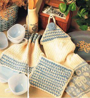 HANDLE POTHOLDER Crochet Pattern - Free Crochet Pattern