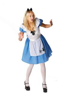 Fancy Dress Disney Alice in Wonderland Costume Adult UK Medium