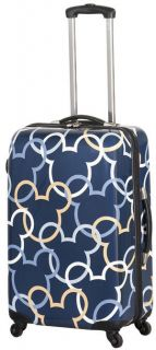 Disney by Heys USA Mickey Signature 26 Upright Wheeled Luggage Blue