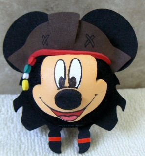 Disney Mickey Mouse Pirate Car Antenna Topper Ball New O