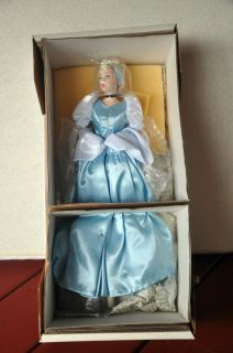 Franklin Mint Disney Cinderella Porcelain Doll