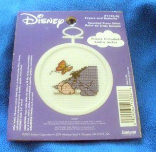 Disney Eeyore & Counted Cross Stitch Kit #113 86