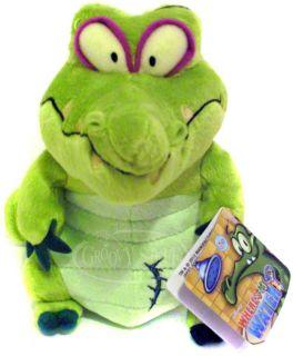 Disney Mobile Wheres My Water Cranky Stuffed Plush Doll Alligator