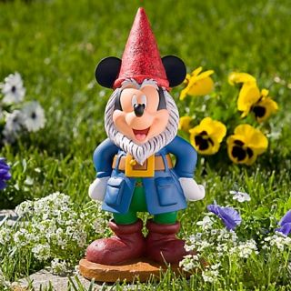 Disney Mickey Mouse Garden Gnome Figure Statue 13 New