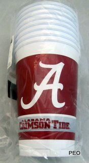 Alabama Crimson Tide Tailgate Kit Plates Napkins Cups