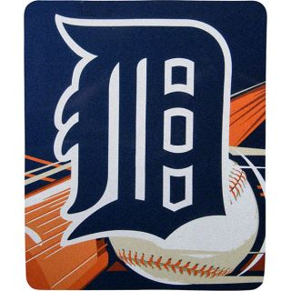 detroit tigers 50x60 big stick sherpa throw