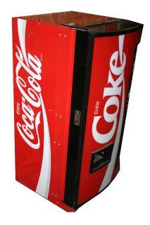 Dixie Narco Model DNCB Coke Machine Fully Working