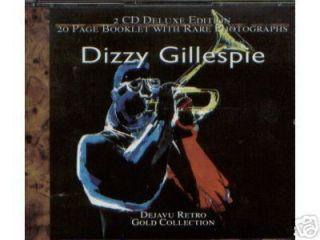 Dizzy Gillespie Gold Collection Inc Emanon 2CDs BK