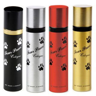 Four Paws Pet Dog Cat Designer Cologne Fragrance Grooming Coat Fur