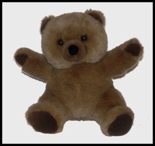 Tan Dex Womb Sounds Heartbeat Teddy Bear Plush Soother