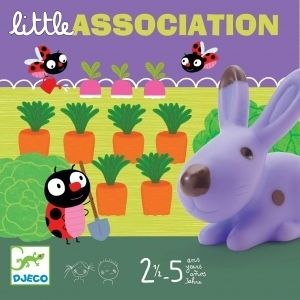 Board Game Little Association by Djeco for Kids Toddlers Aged 2 5
