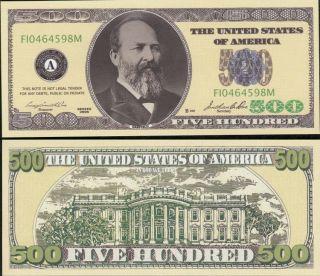 Mega Set of 477 Novelty Mostly Million Dollar Bills Each Different