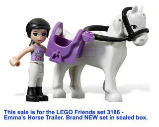 LEGO Friends Emma's Horse Trailer Girls Emma  Brand NEW set in