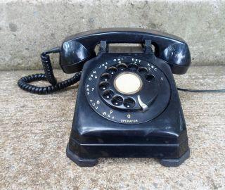 TV Props Dennis The Menace Black Desk Phone