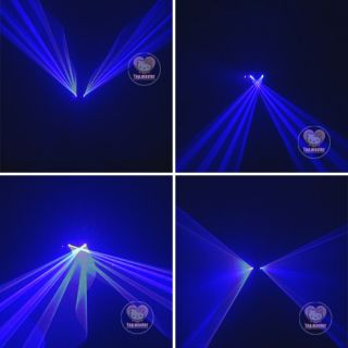 Blue Laser Stage Lighting Scanner DJ Disco Party Show Light