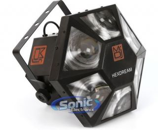 DJ HEXDREAM LED 4 Channel Sound Activated Multi Colored Stage Effect