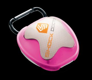 PINK SHOCK DOCTOR Mouth Guard Case mouthguard gum shield box