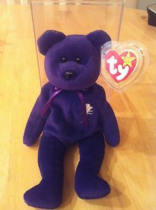 Ty Beanie Baby Babies Princess Diana P E Pellets Unnumbered