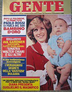 JERRY LEWIS Princess Diana Ava Gardner Barbra Streisand GENTE 83