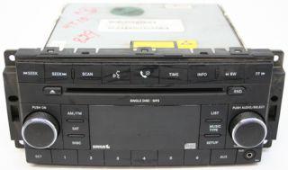 Dodge Journey 09 10 Factory Sirus SAT CD Player Radio