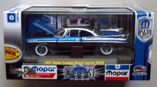 1957 DODGE ROYAL LANCER D500 M2 Machines MOPAR 75 Diecast 1 64 Car