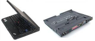 X61 Tablet Touchscreen Laptop Docking Station DVD CDRW Drive