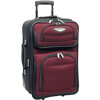 Travelers Choice Amsterdam 21 in Expandable Carry on 4 Colors